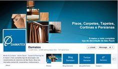 Facebook Damatex. Novo layout: facebook.com/Damatex