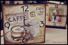 Hand Painted Gifts Clock