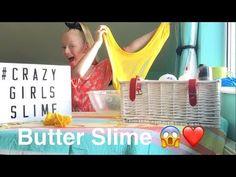 BUTTER SLIME / MAKING SLIME UK AND IRELAND ❤️😱/ Crayola Model Magic/ Flu... Making Slime, How To Make Slime, Slime Uk, Model Magic, Crazy Girls, Flu, Ireland, Butter, Guys