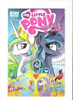MY LITTLE PONY 25 Blank Variant Cover Perfect For Conventions