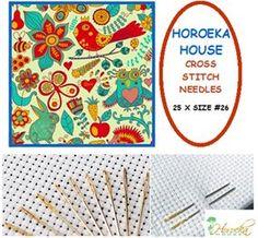 Cross Stitch/Tapestry Needles - 25 x Size #26