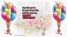 Birthday greeting messages with pictures - Messages - Birthday Greeting Birthday Greeting Message, Happy Birthday Greetings, Happy Birthday Cake Images, Good Night Blessings, Messages, Qoutes, Pictures, Moon, Women