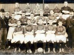 Rab in his Liverpool days - player from left middle row.The man in the bowler hat is Tom Watson - arguably Liverpool's greatest ever manager.