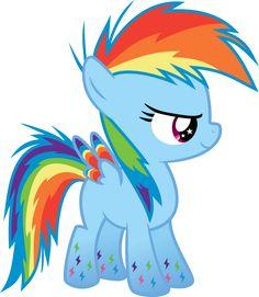 A Dash of Rainbow Power by Serenawyr on deviantART