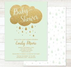Hey, I found this really awesome Etsy listing at https://www.etsy.com/listing/252734803/mint-baby-shower-invitation-printable