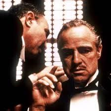 Marlon Brando as Don Vito Corleone, The Godfather. & on Bristol Board The Godfather Famous Movies, Iconic Movies, Classic Movies, Great Movies, 70s Films, Popular Movies, Marlon Brando, Mafia, Forrest Gump