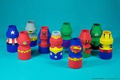 Resultado de imagem para móbile super heróis