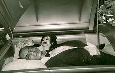 open casket.. this is a bit creepy