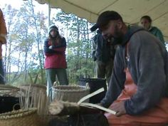 Making an Ash Baket with Pipe Smokin' Mark Young