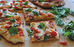 BLT Pizza recipe