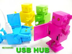Undoubtedly, for those robot lovers, this robot is a perfect way to connect the USB gadgets to the USB ports. Robot Revolution, Usb Gadgets, Usb Hub, My Favorite Things, Cool Stuff, Robots, Cute, Products, Robot