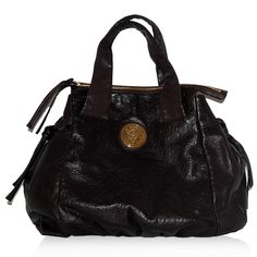 Gucci Brown Monogram Embossed Bag http://www.consignofthetimes.com/product_details.asp?galleryid=8561