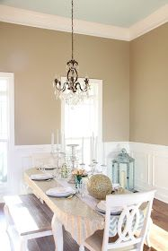 Southern Soul Mates: Foyer & Dining Room: Before and After