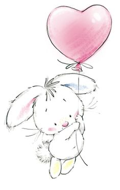 Marina Fedotova-bunny with balloon