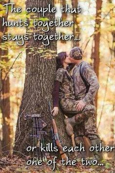 Can't wait to start hunting with my honey :)