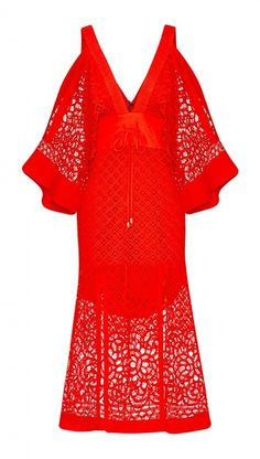 alice McCALL Break My Love Dress Red
