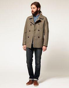 01c0db0902a Nudie Pelle Classic Pea Coat. Pea Coat