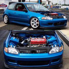 "Honda EG ""hot"" hatch w/ VTECH."