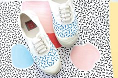 Collab Oelwein x Bensimon Tween Fashion, Fashion Shoes, 2016 Fashion Trends, Vintage California, Inspiration Mode, Pretty Patterns, Kid Styles, Shoe Box, Sock Shoes