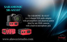 all new Saramonic SR-AX107