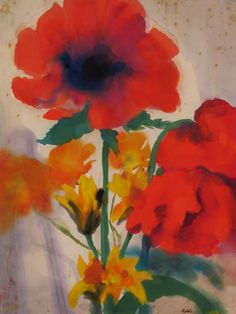 always a great joy - discovering a nolde, not seen before...(especially this beautiful)