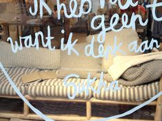 Best store in Amsterdam for Chunky Knits. Sukha check out the great pillows in the window.