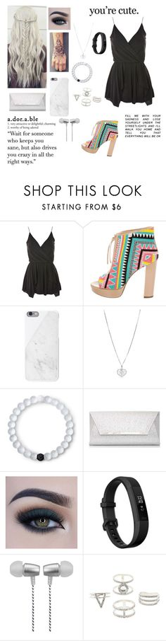 """""""Pop Of Color Shoes"""" by blondypup ❤ liked on Polyvore featuring Topshop, Jerome C. Rousseau, Native Union, Lokai, Dorothy Perkins, Too Faced Cosmetics, Fitbit, Cynthia Rowley and Charlotte Russe"""