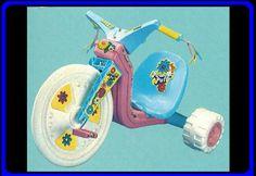 Powder puff big wheel! My favorite toy!!!