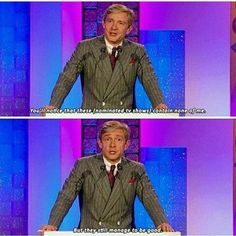 This is why I love Martin Freeman ❤️