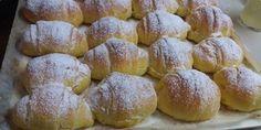 PUDING KIFLICE - Ove kifle su najsavrsenije koje sam probala,meke su danima. Savrsene su i kad se odmrznu.Obavezno ih probajte. Bread Recipes, Cookie Recipes, Dessert Recipes, Desserts, Kolaci I Torte, Bread And Pastries, Biscuit Cookies, Pretzel Bites, No Bake Cake