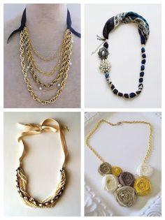 Heart Handmade UK: Gift Ideas for Her | Weekend DIY | Necklace DIYs and Tutorials