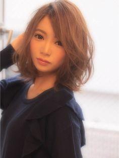 【peace omotesando】モテ可愛いおフェロフェザーボブ - 24時間いつでもWEB予約OK!ヘアスタイル10万点以上掲載!お気に入りの髪型、人気のヘアスタイルを探すならKirei Style[キレイスタイル]で。