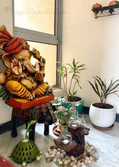 41 Ideas house entrance design entry ways entryway decor Indian Home Decor, Diy Home Decor, Indian Decoration, Diy Decoration, House Decorations, Room Decor, Buddha Decor, Indian Living Rooms, Indian Homes