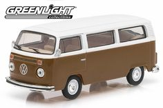 Modelmatic sells (ish) scale cars, trucks, roads, vans and accessories. Volkswagen Type 2, Vw Bus, Champagne, Vans, Trucks, Brown, Agate, Film, Tv