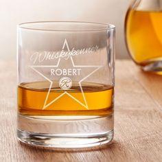 Personalisiertes Whiskyglas - Star of Fame via: monsterzeug.de