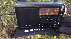 The Eton Satellit: Radio Inconfidencia 15190 kHz, Belo Horizonte, Brazil