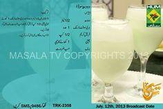 Doodh Soda Recipe Ramzan Summer Drink for Iftar Masala TV Indian Veg Recipes, Fish Recipes, Juice Recipes, Dessert Drinks, Fun Drinks, Cold Drinks, Beverages, Masala Kitchen, Pakistani Desserts