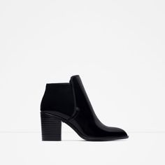 Image 1 of WIDE HEEL ANKLE BOOT from Zara