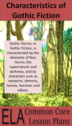 Best Gothic Images  Gothic Horror Novels Fiction A Nice Primer On The Characteristics Of Gothic Fiction And Edgar Allan Poe  Essay Prompts