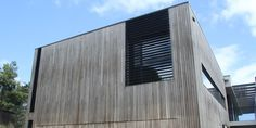 greyed off spottedgum cladding