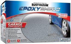 Garage Floor Coating Kit Water Based Epoxy Waterproof Sealer Basement Floors