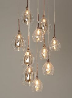 Carmella 10 light cluster - Ceiling Lights - Home, Lighting & Furniture Dining Room Lighting, Bedroom Lighting, Interior Lighting, Kitchen Lighting, Home Lighting, Lighting Design, Lighting Ideas, Lighting Stores, Bedroom Lamps