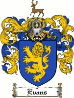 Evans Coat of Arms / Evans Family Crest