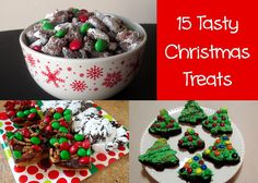 Love to be in the Kitchen: 15 Tasty Christmas Treats