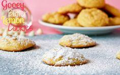 gooey butter lemon cookies
