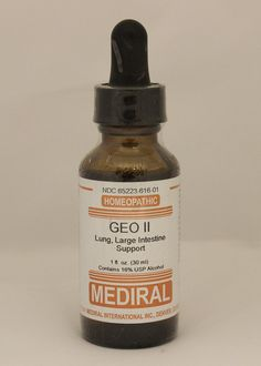 Natural Home Remedy for Lung, Large Intestine Support | GEO II Homeopathic www.eVitaminMarket.com