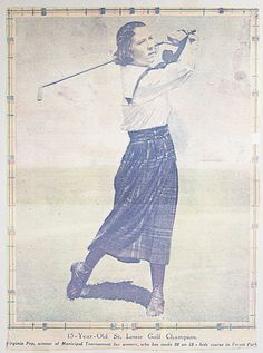 #Vintage #golf clipping.