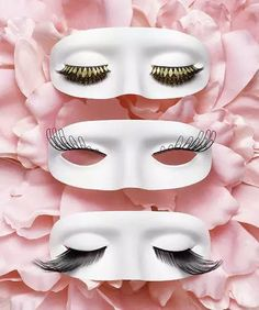 Image discovered by JustNeville. Find images and videos about fashion, eyelashes and mask on We Heart It - the app to get lost in what you love.