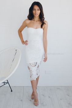 Esther boutique white dress.