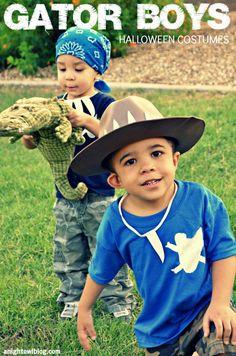 homemade halloween for boys | Boys Homemade Halloween Costumes | #GatorBoys #AnimalPlanet #Halloween ...